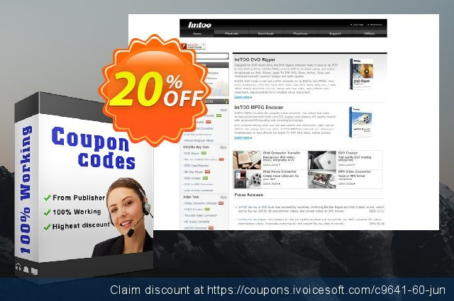 ImTOO DVD Creator for Mac discount 20% OFF, 2020 Summer offering sales
