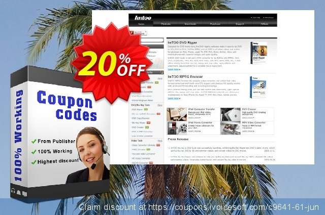 ImTOO Video Editor 2 discount 20% OFF, 2019 Thanksgiving Day offering sales
