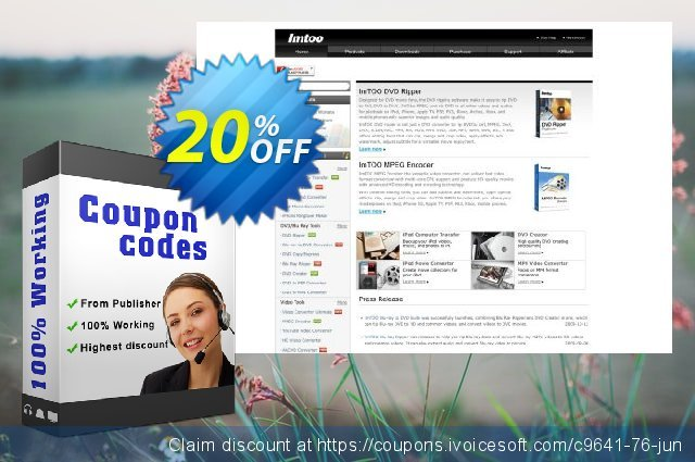 ImTOO DVD Subtitle Ripper discount 20% OFF, 2020 Exclusive Student discount promo