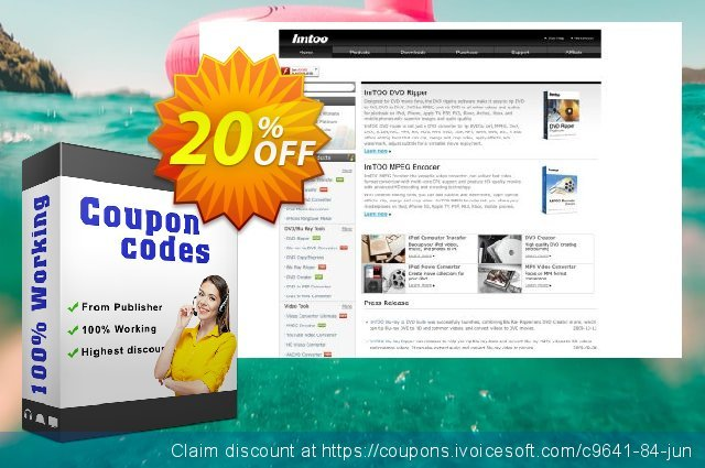 ImTOO MPEG Encoder Platinum discount 20% OFF, 2020 April Fools' Day offering sales