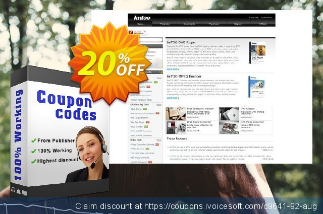 ImTOO HD Video Converter 6 discount 20% OFF, 2020 4th of July offering discount