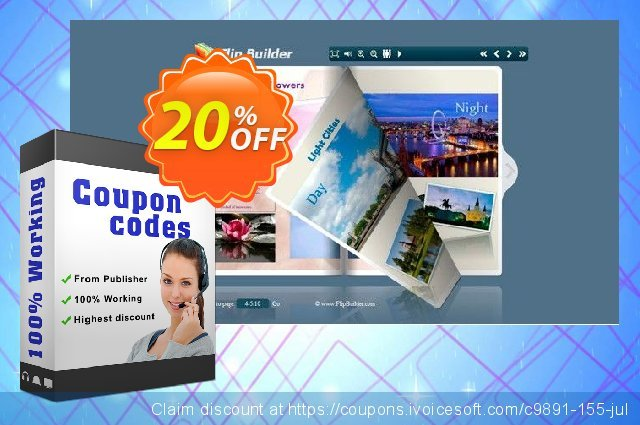 ePub to FlashBook discount 20% OFF, 2020 Xmas Day offering sales