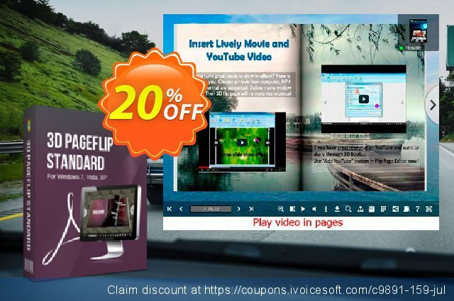 3DPageFlip for Photographer discount 20% OFF, 2020 Back to School Promos offering sales