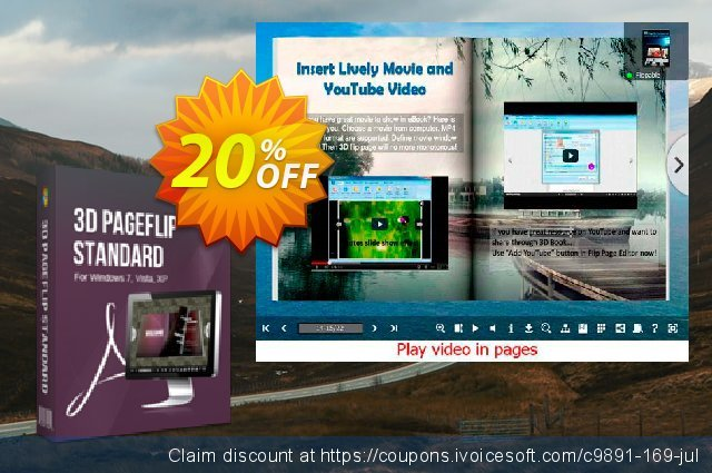 3DPageFlip for CHM discount 20% OFF, 2020 Exclusive Student deals discount