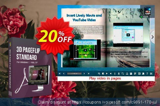 3DPageFlip for Image discount 20% OFF, 2020 Student deals offering discount