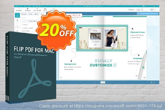 Flip PDF for Mac discount 30% OFF, 2019 Happy New Year sales