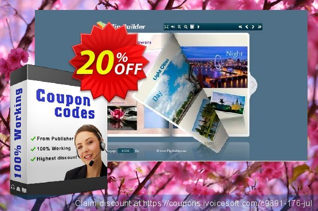 FlipBook Creator for Mac discount 20% OFF, 2019 Women Day offering sales