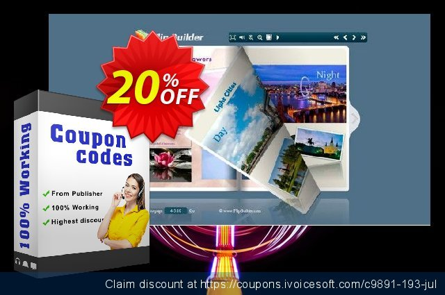 Office to FlipBook Professional discount 20% OFF, 2020 Exclusive Teacher discount promo