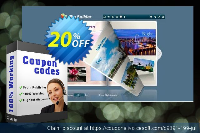 Photo to FlashBook Professional discount 20% OFF, 2020 College Student deals offering sales