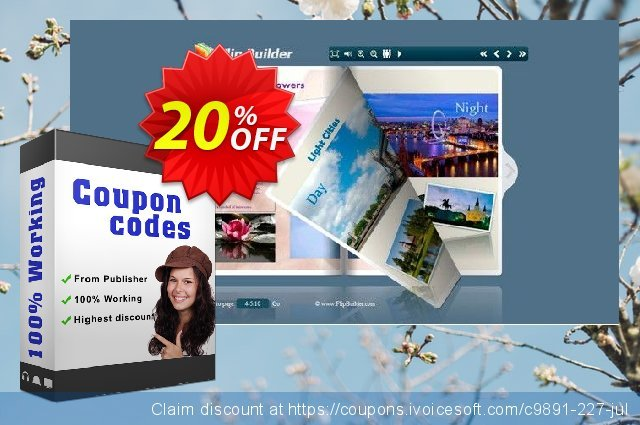 Flipping Book 3D for CHM discount 20% OFF, 2020 Thanksgiving promo sales