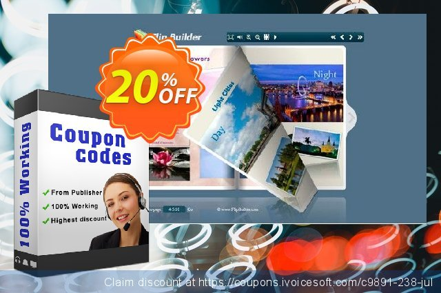 Flipping Book 3D for Writer discount 20% OFF, 2020 Black Friday promotions