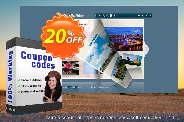 Flipping Book 3D for DOC discount 20% OFF, 2020 Thanksgiving Day promo sales