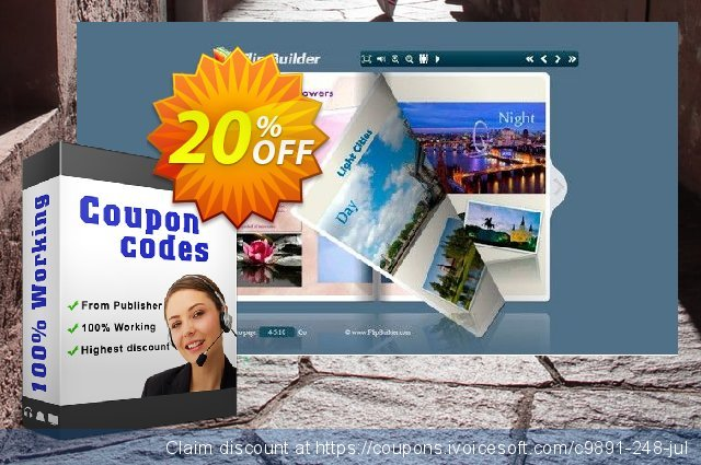 Flip Image Professional discount 20% OFF, 2021 Happy New Year promotions