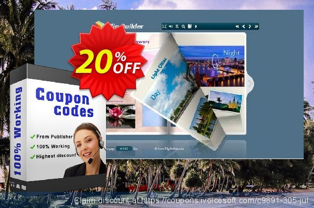 Boxoft Office to Flipbook Pro discount 20% OFF, 2020 Back to School Promos promo sales