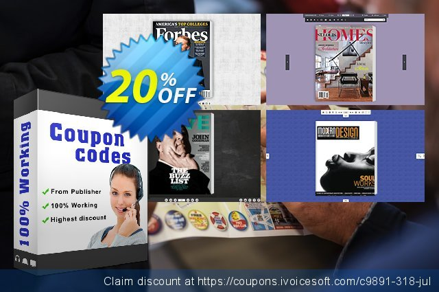 Brand Templates for Flip PDF Pro discount 20% OFF, 2020 Halloween offer