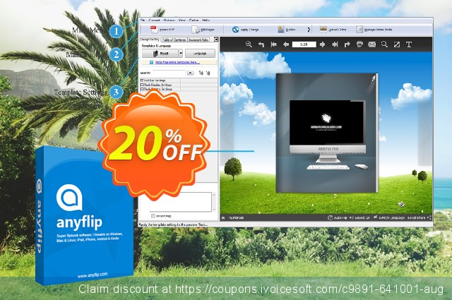 Anyflip Enterprise discount 20% OFF, 2020 Labour Day promo
