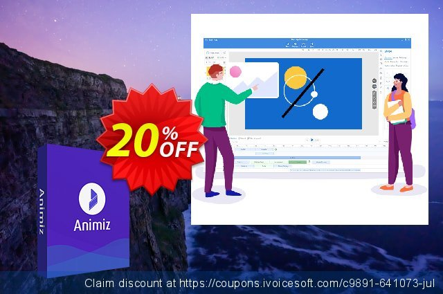 Animiz standard discount 20% OFF, 2019 Teacher deals promo