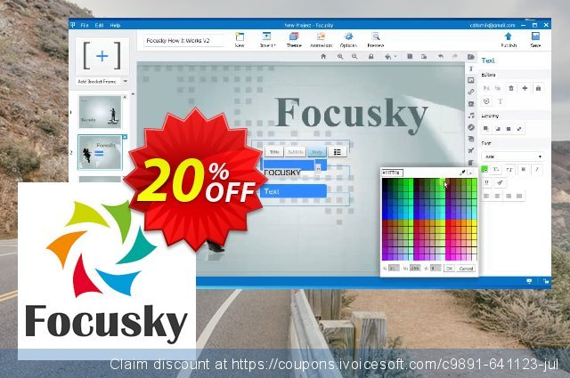 Focusky Standard discount 10% OFF, 2020 Labour Day offering sales