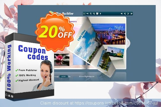 Flip PowerPoint discount 20% OFF, 2021 January promo sales