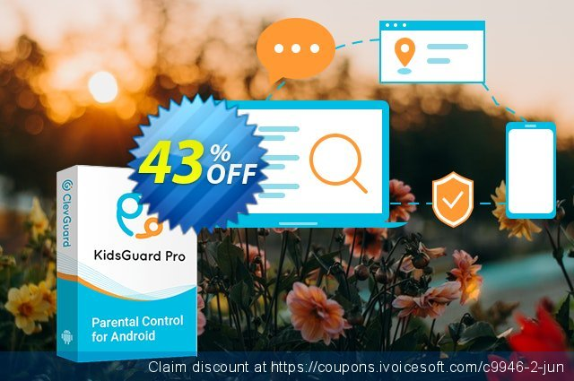 KidsGuard Pro for Android discount 43% OFF, 2020 Teacher deals offering discount