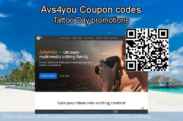 Avs4you Coupon code for 2019 American Independence Day