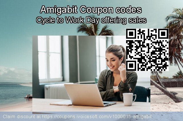 Amigabit Coupon code for 2019 Working Day