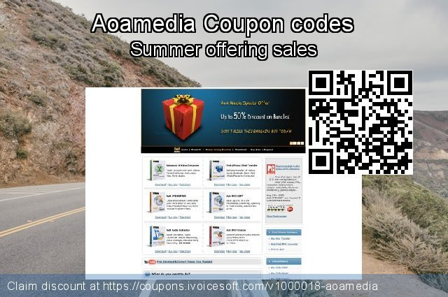 Aoamedia Coupon code for 2019 Halloween