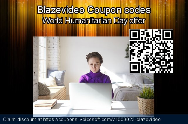 Blazevideo Coupon code for 2020 Exclusive Student discount
