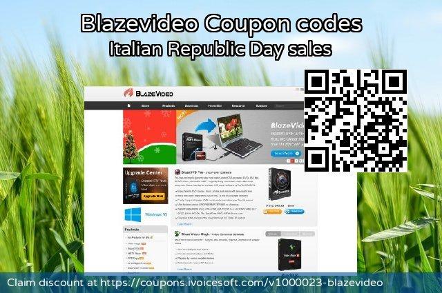Blazevideo Coupon code for 2019 Halloween