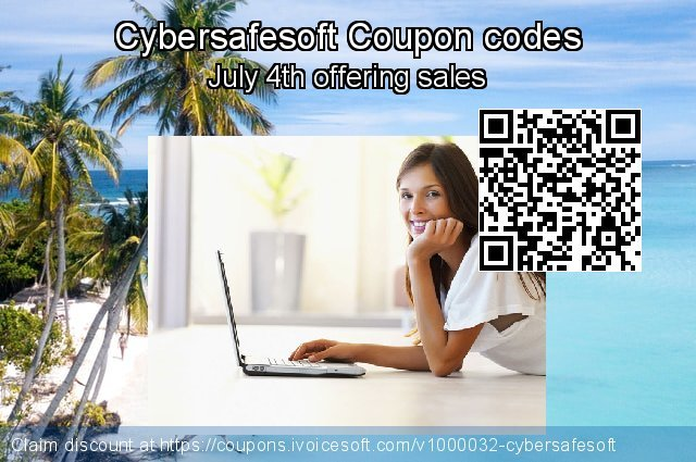 Cybersafesoft Coupon code for 2019 American Independence Day