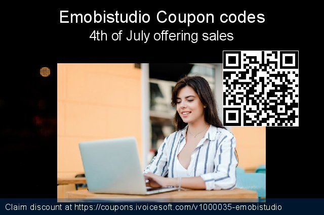 Emobistudio Coupon code for 2021 Spring