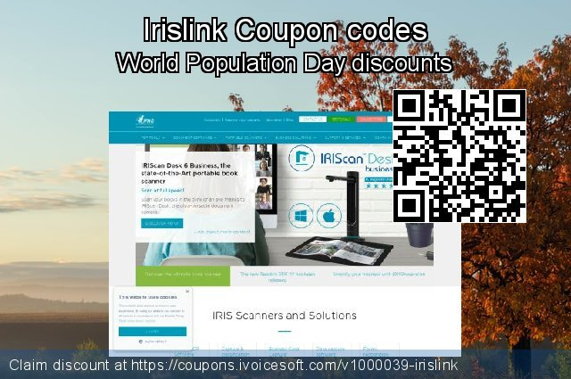 Irislink Coupon code for 2019 Halloween