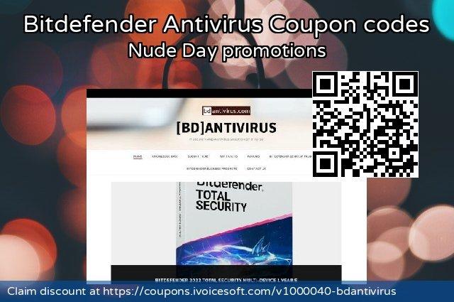 Bitdefender Antivirus Coupon code for 2021 April Fools' Day
