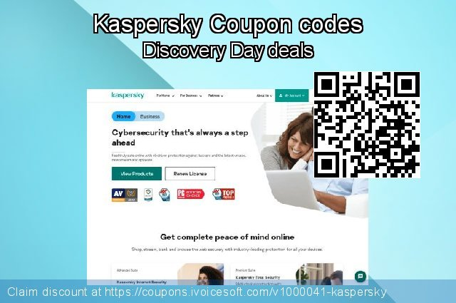 Kaspersky Coupon code for 2019 Back to School promotion
