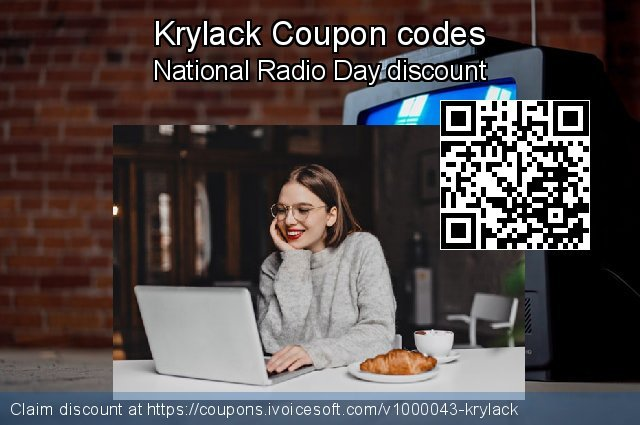 Krylack Coupon code for 2019 Christmas & New Year