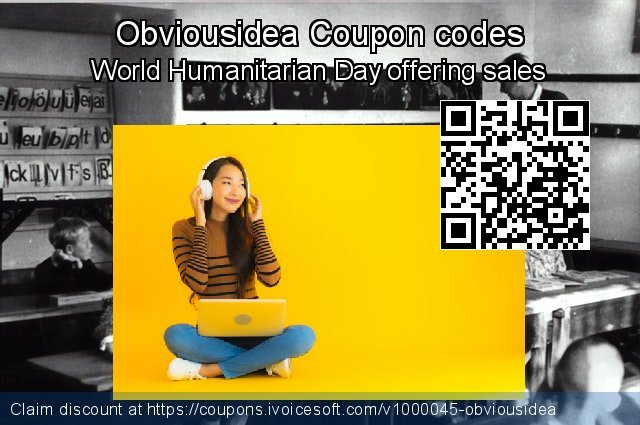 Obviousidea Coupon code for 2020 Library Lovers Month