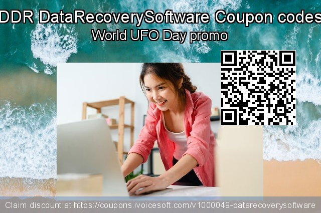 DDR DataRecoverySoftware Coupon code for 2019 New Year's eve