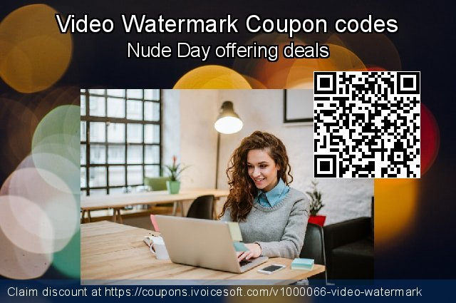 Video Watermark Coupon code for 2021 Earth Hour