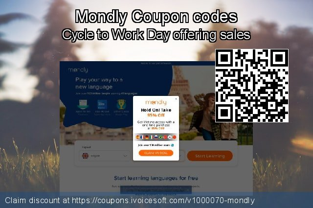 Mondly Coupon code for 2020 American Independence Day