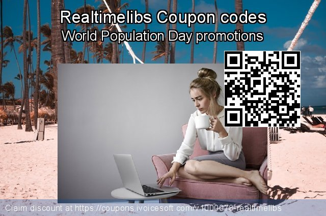 Realtimelibs Coupon code for 2019 Fourth of July