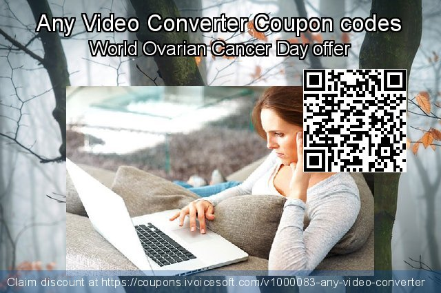 Any Video Converter Coupon code for 2019 Back to School promotion