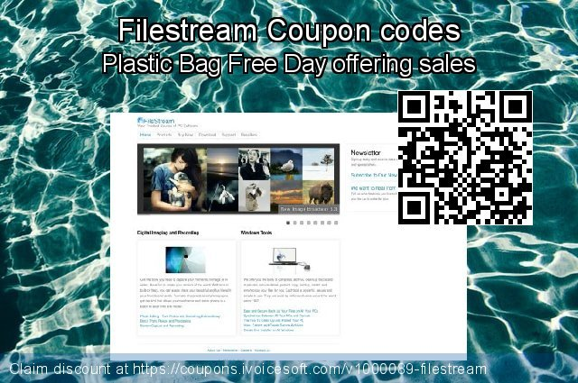 Filestream Coupon code for 2021 National Women month