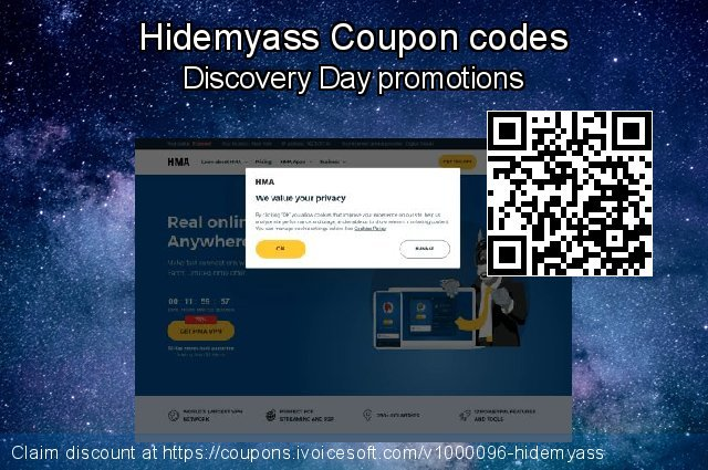 Hidemyass Coupon code for 2021 Working Day
