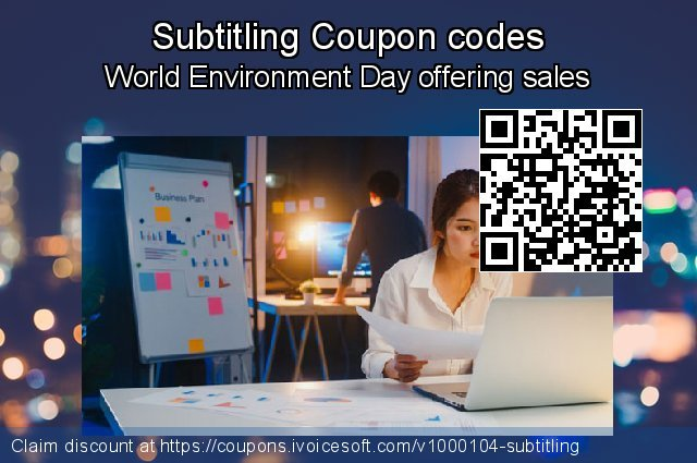 Subtitling Coupon code for 2019 Christmas