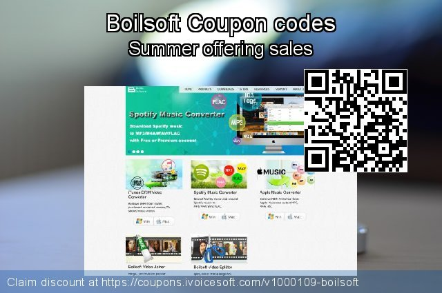 Boilsoft Coupon code for 2019 Father's Day