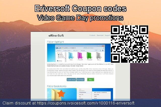 Eriversoft Coupon code for 2019 New Year's Day