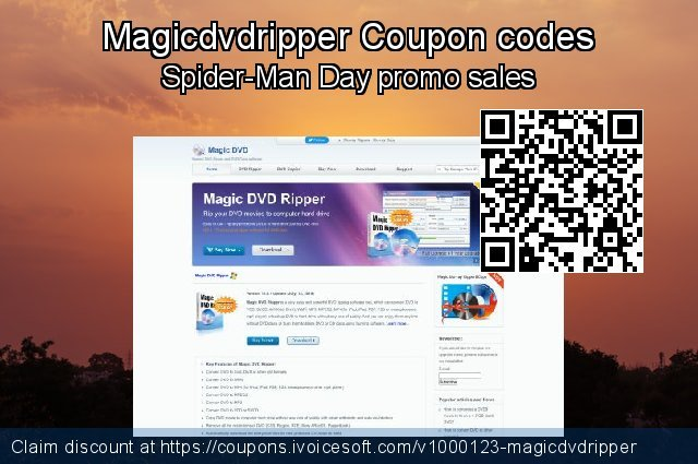 Magicdvdripper Coupon code for 2019 Xmas