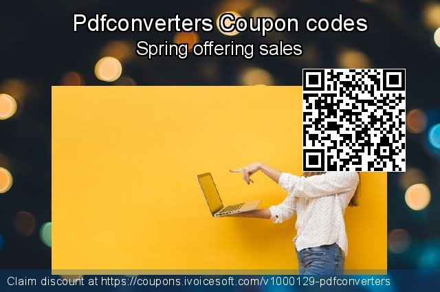 Pdfconverters Coupon code for 2020 January