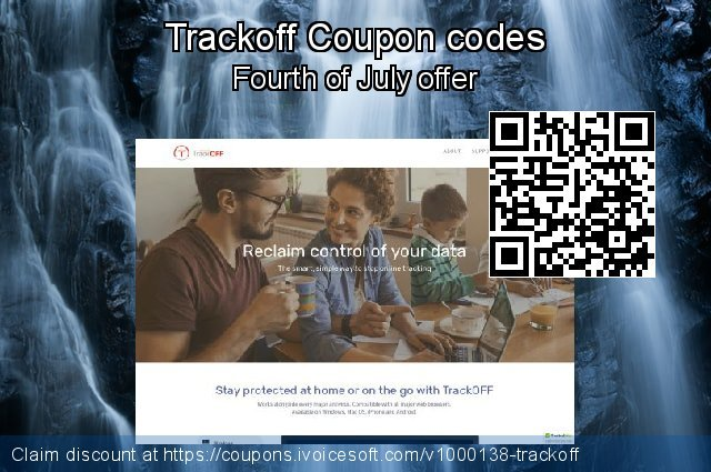 Trackoff Coupon code for 2020 New Year's Weekend