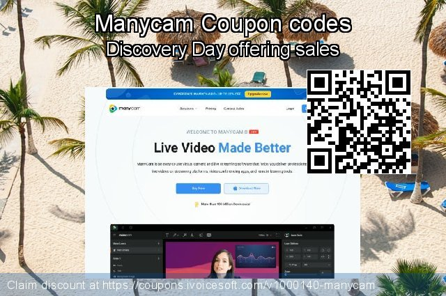 Manycam Coupon code for 2020 Back to School event